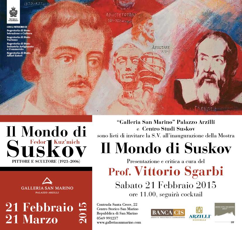 Suskov - Invito Mostra San Marino