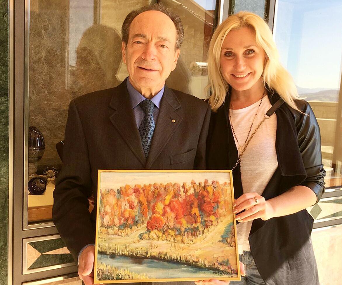 Arzilli and Nazarova - Suskov painting