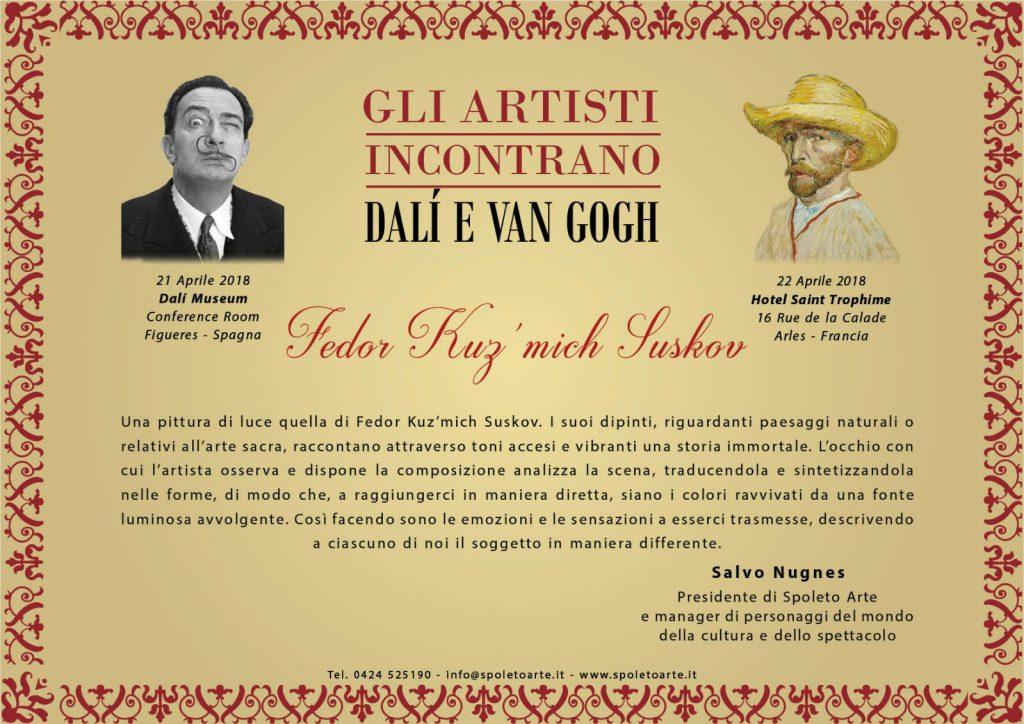 Gli artisti incontrano Dalì e Van Gogh
