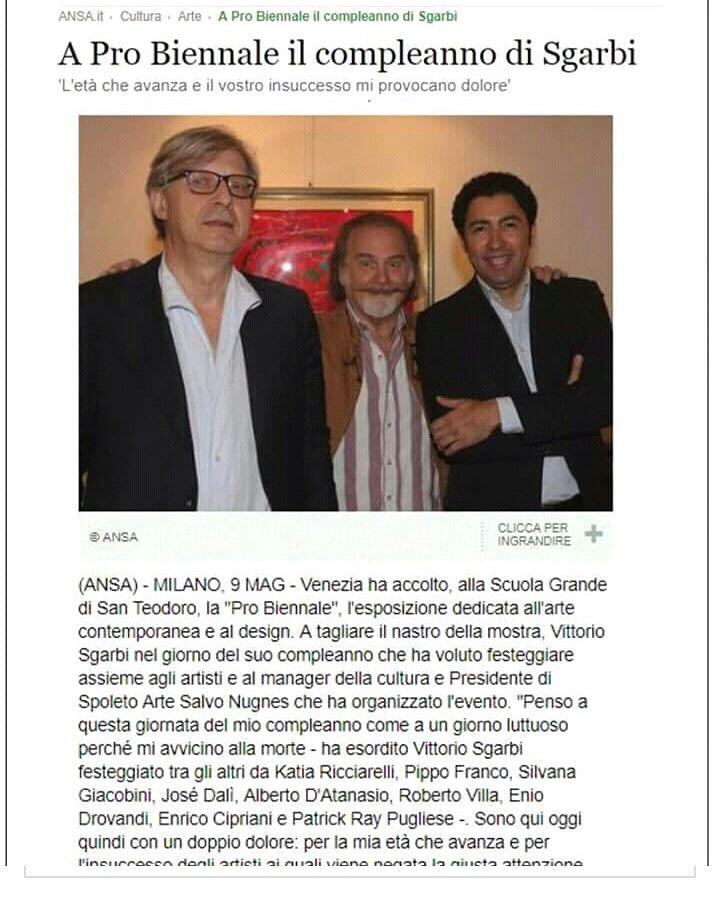 Suskov alla Biennale di Venezia