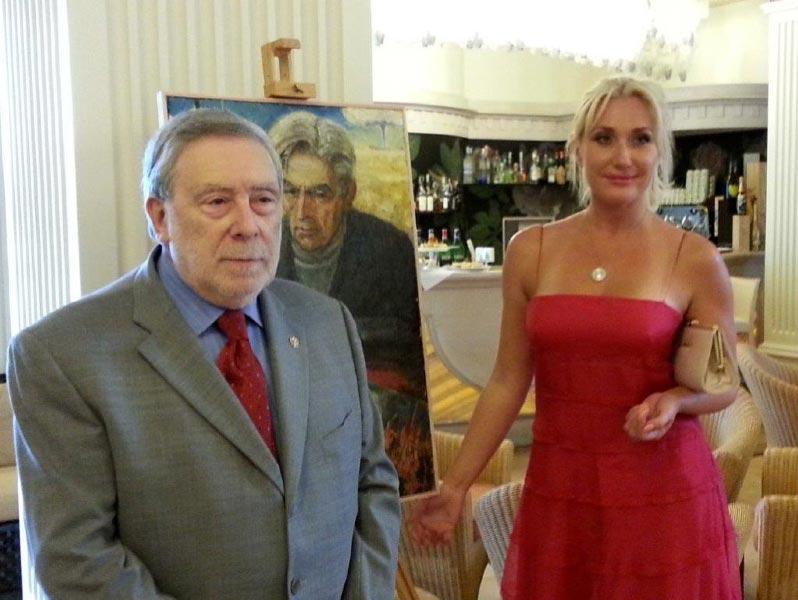 Omaggio di Milano Marittima all'artista russo FEDOR K. SUSKOV 2014