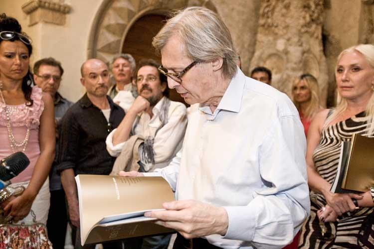 Spoleto, Festival dei due Mondi - Sgarbi presenta F.K. Suskov