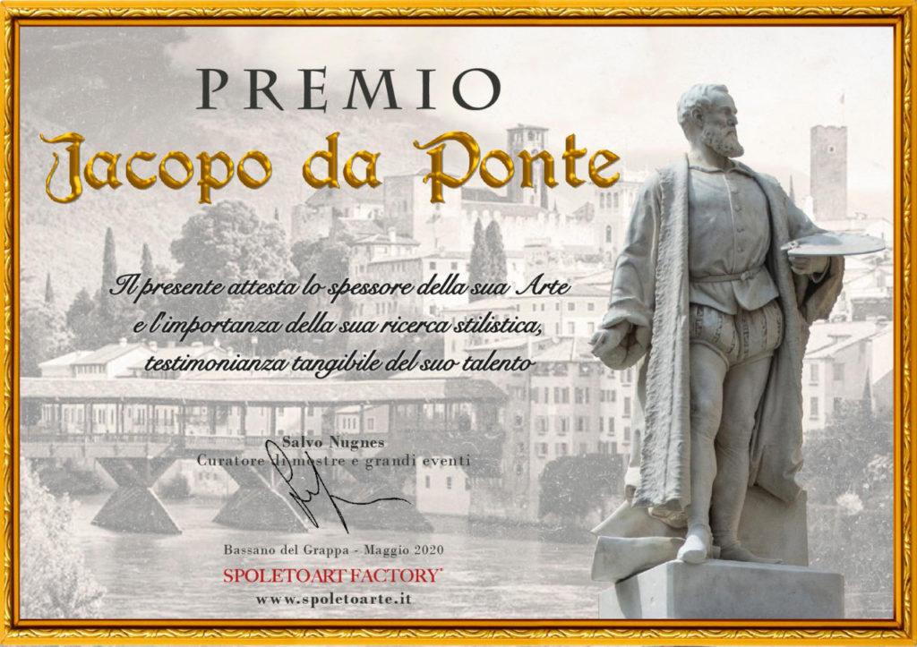Premio Jacopo da Ponte - Spoleto Art Factory Maggio 2020